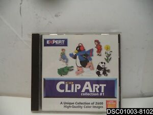 Expert Software Clip Art Collection 1 On Cd