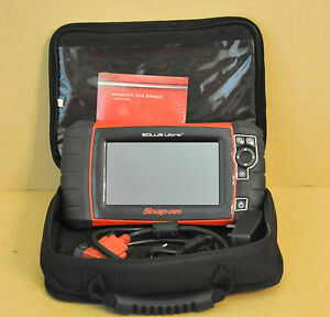Snap On Solus Ultra Diagnostic Scanner 17 4 Software European Asian Domestic