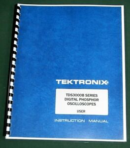 Tektronix Tds3000b Series User Manual Comb Bound Protective Covers