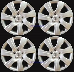 New Set 4pcs 16 Hubcap Rim Wheel Cover Fits 2006 2017 Toyota Camry Camery