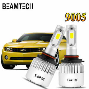 9005 Led Headlight Bulbs For Chevrolet Silverado 1500 1999 2015 Camaro 1998 2002