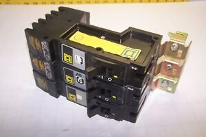 3 Square D 20 Amp 1 Pole 277 Vac I line Abc Phase Circuit Breakers Fy14020a b c