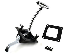 1967 1968 Mustang Complete Floor Shifter Assembly Auto W Shift Handle By Acp