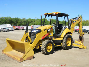 2015 Caterpillar 420f 4wd Backhoe Wheel Loader Tractor 4x4 Bidadoo