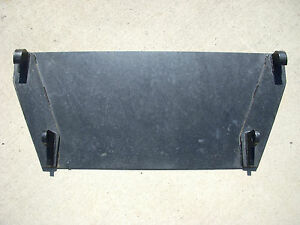 Global Quicke Euro Tractor Attachment Weld On Mounting Blank Plate Free Ship