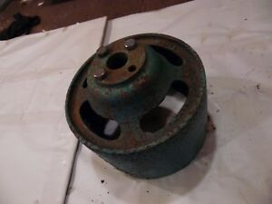 Oliver 77 Or 88 Farm Tractor Steel Belt Pulley
