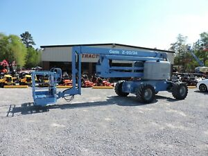 2006 Genie Z60 34 Boom Lift Jlg 60 Reach Articulating Very Nice