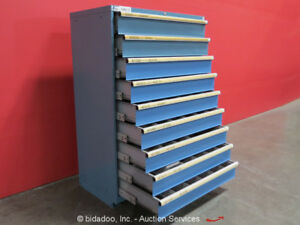 Lista 9 drawer drawer Tool Cabinet Shop Equipment Industrial Storage Box