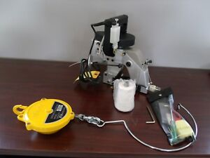 New Np 7a New long Hand Held Industrial Bag Closer With Hanging Spring Balancer