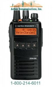 New Vertex standard Evx 534 Enhanced Display Vhf 134 174 Mhz 5 Watt 512 Ch