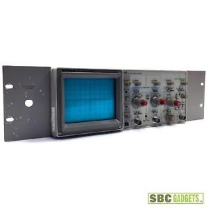 Tektronix 2213 Digital Oscilloscope 60 Mhz 2 Channel Measuring Device