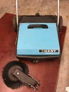 Kent Manual Push Commercial Floor Cleaner Brush Sweeper Wide Ks 270 Euroclean