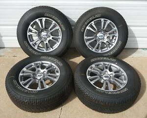 2005 2018 Ford F150 18 Factory Alloy Wheels And Tires Jl34 1007 ga