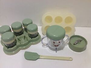 Magic Bullet Baby Food Making Storage System Spatula Extra Blade No Motor