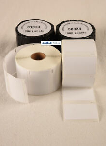 Dymo Labelwriter Compatible 30334 Multi purpose Adhesive 1000 Labels Per Roll