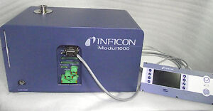 Last One Inficon Modul 1000 Helium Leak Detector 550 300a 5 393 Hrs 4 Mo Wrty