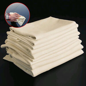 1pcs Absorbent Towel Natural Chamois Leather Car Cleaning Cloth Washing Suede