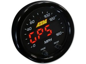 Aem 30 0313 X Series Gps Speedometer Mph Altitude Track Gauge 2 1 16 52mm