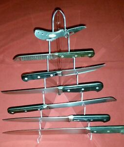 display 7 Tier Stand Holder For Folding Fixed Blade Knives Daggers Bayonets