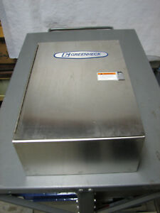 lot Of 2 Type 1 Electrical Enclosure Junction Box 18 X 15 X 6 18 X 4