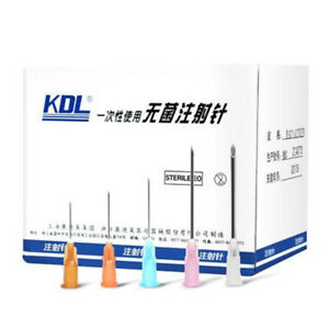 Disposable Medical Needles Kdl 100 Piece Disposable Sterile 12 1 2 38