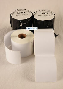Dymo Compatible Internet 3 part Postage Address Labels 30387 Thermal Bpa Free