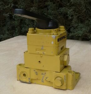 Enerpac Vm 3l Hydraulic Pump Mounted Valve Single acting 3 way 3 position