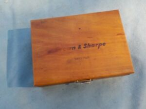 Brown Sharpe No 7027 Bestest Indicator In Original Box With Accessories