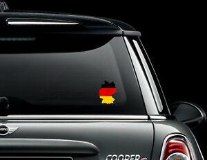 Germany Country Flag Car Bumper Decal Sticker