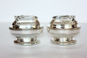 Ronson Queen Anne Table Lighter Set 2
