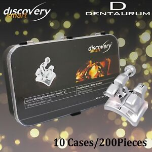 Dentaurum Discovery Smart Dental Orthodontic Metal Brackets Mbt 22 200pcs