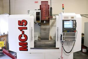 Haas Vf3 Fryer 2012 Mc 15 cnc Mill Part Probing tool Touch Probe 25 Hp 8000rpm