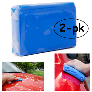 2x Magic Car Clean Clay Bar Detailing Wash Cleaner Mud Remove 2 Pack