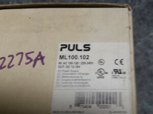 Puls Power Supply Ml100 102 Output 12 15v Volts