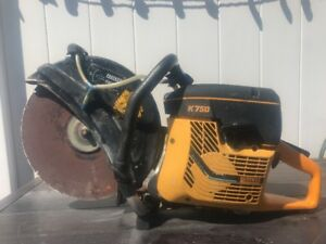Concrete Cut Off Saw Partner K750 14 5400 Rpm Runs And Works With Blade