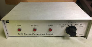 Smith Companies Time And Temperature Control Box Dent x 810 Xray Processor Dentx