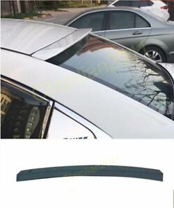 Rear Roof Factory Style Spoiler Wing For 09 15 Chevrolet Chevy Cruze Sedan Abs