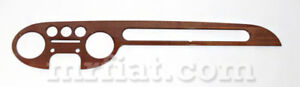 Lancia Fulvia Coupe 1st Series Wood Dashboard Face New