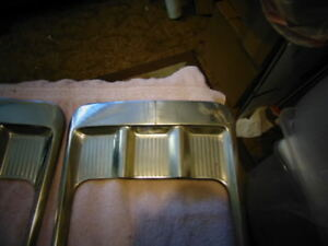 1958 Chevy Chevrolet Impala Pitch Fork Trim 1 Pair