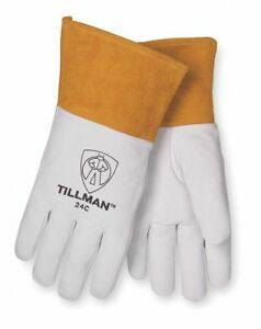 Tillman 24cl Large Top Grain Kidskin Tig Welding Gloves Pack 6 Pairs 24c