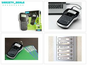 Label Maker Machine Dymo Tape Software Printer Vintage Embossing Rechargeable