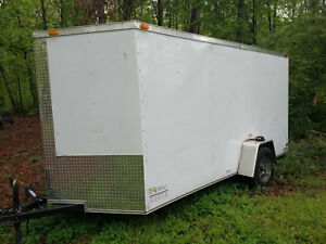 Mobile Pressure Washing System In Enclosed Trailer