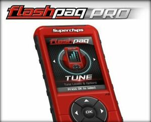 Superchips Flashpaq Pro Custom Handheld Tuner 5845