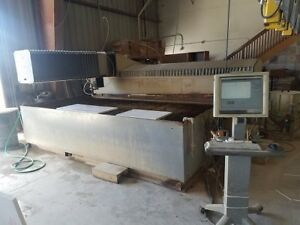 2001 Flow Ifb 6012 Cnc Waterjet Cutting Ref 7794230