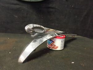 1949 Dodge Hood Ornament Mascot P n 1298935 Chrome Ram With Bolts