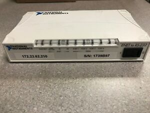 National Instruments 4 port Usb Rs232 Serial Interface Device