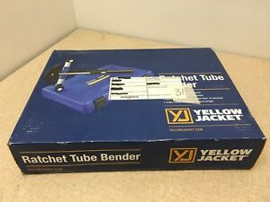 New Yellow Jacket 60331 Ratcheting Hand Tube Bender