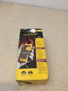 New Fluke 324 True Rms Clamp Meter 4152637