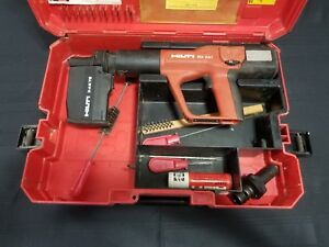Hilti Dx A41 Powder Actuated Nail Gun W X am72 Magazine Case