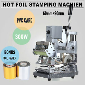 Foil Stamping Machine Pvc Leather Printing Embossing Marking Machine Stamper